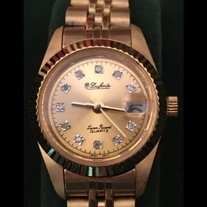 Vintage Women's Dufonte Lucien Priccard Watch